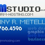 JRM Studio Business Card