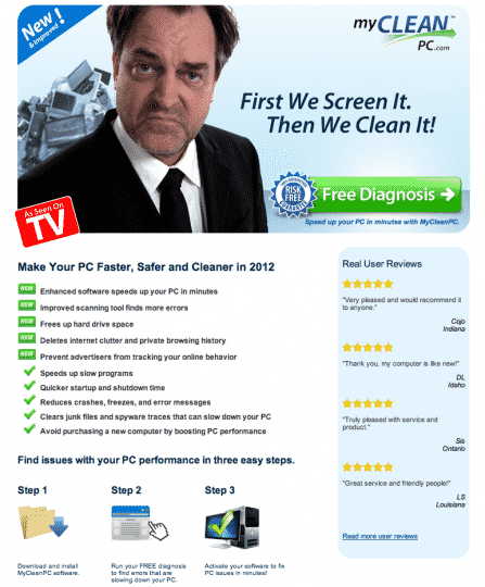 MyCleanPC-com Reviews